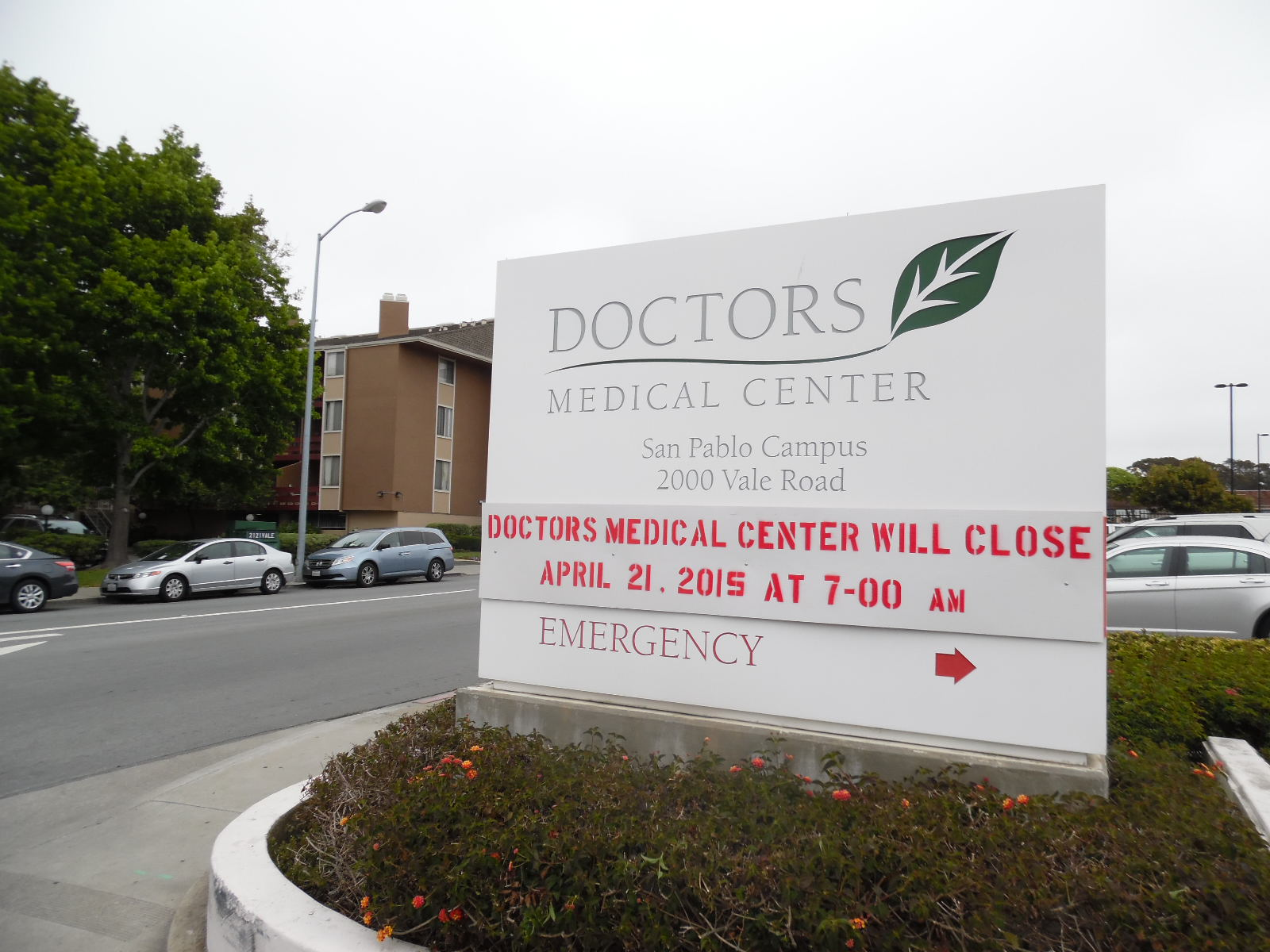 Community will continue to pay one of two Doctors Medical Center taxes following hospital closure