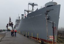 Red Oak Victory to close for restoration work