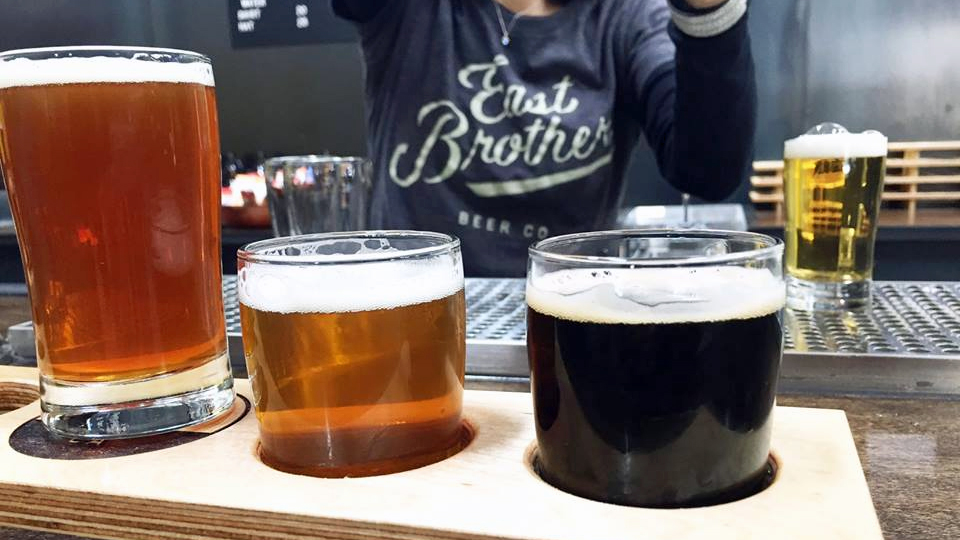 Cheers! What's on tap at East Brother Beer Co.
