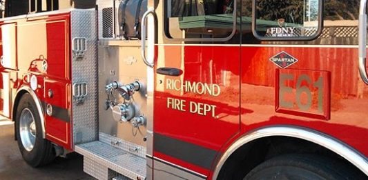 Five people displaced in two-alarm fire on S. 47th Street