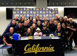 Richmond girl, 9, joins Cal Bears water polo team