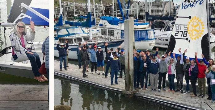 Richmond Yacht Club increases accessibility with new person hoist
