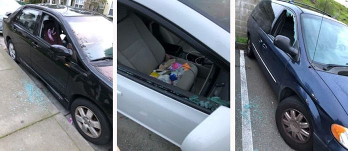 24 cars vandalized near Richmond Village Apartments this morning