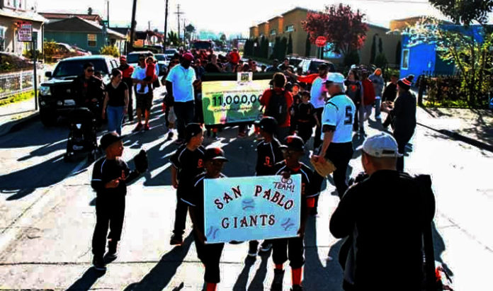 San Pablo Baseball Association opening day parade set for April 6