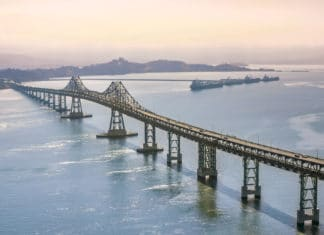 Concrete debris again falls from Richmond-San Rafael Bridge