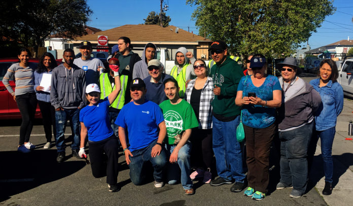 Volunteers improve 23rd St. on Cesar Chavez Day