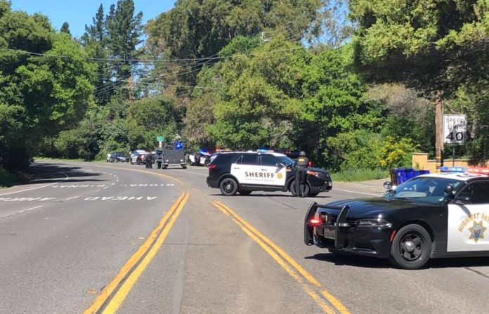 El Sobrante roadway temporarily closes due to police activity