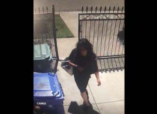 Video! Richmond resident warns neighbors about trespasser