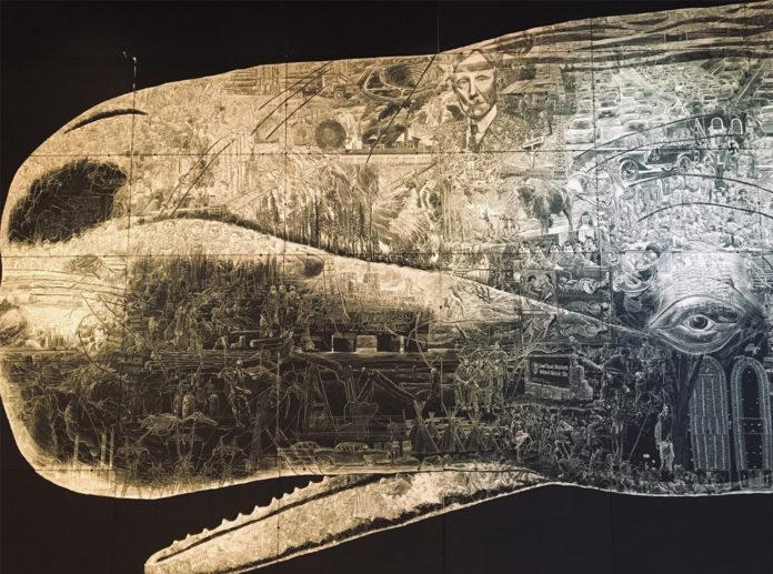 Life size whale artwork makes big splash at Richmond Art Center