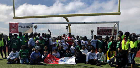 Kennedy High hosts 1st Invitational Special Education Track Meet