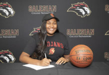 Salesian's Angel Jackson rises to occasion