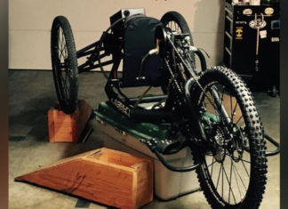 Have you seen it? Resident's special needs handcycle stolen