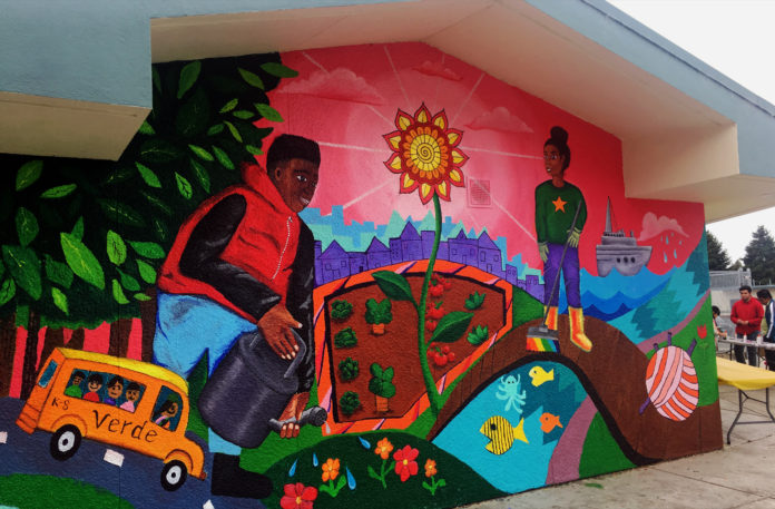 Verde Elementary celebrates campus art projects
