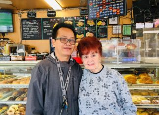 Richmond resident visits Andy's Donuts for first time