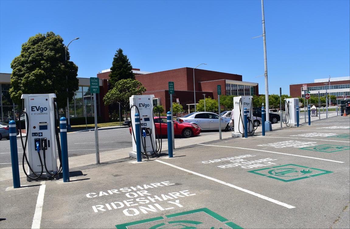 Richmond to celebrate new EVgo fast-charging hubs | Richmond