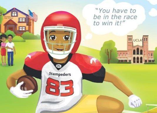 Children's book about Richmond athlete now has soundtrack