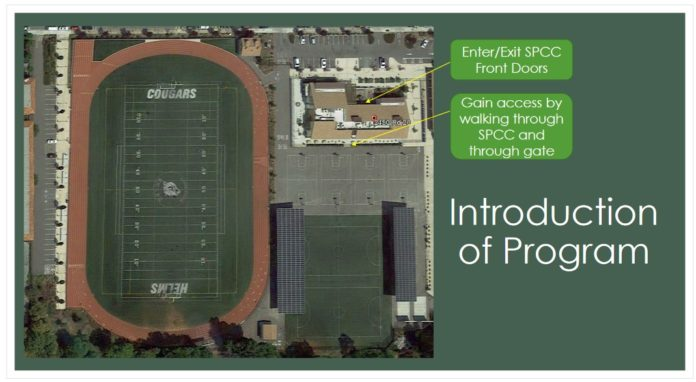 Pilot program to offer community access to Helms Middle sports fields