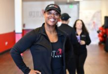 Latona Whitaker of Get It Girl Fitness inspires good health when it's needed most