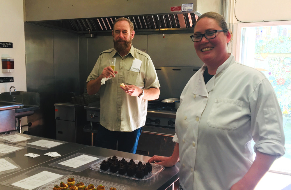 'Beer & Food Pairing' event showcases new commercial kitchen