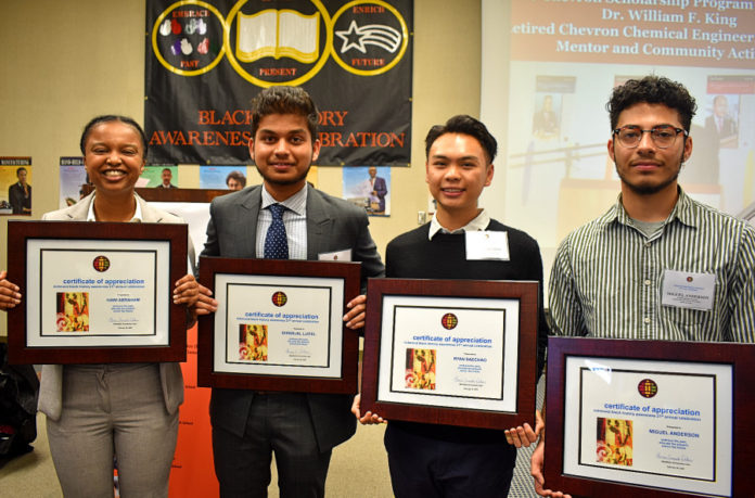 Chevron Black Employee Network scholarship recipients aren't waiting to make a difference