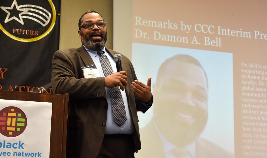 Dr. Damon A. Bell, interim president of Contra Costa College