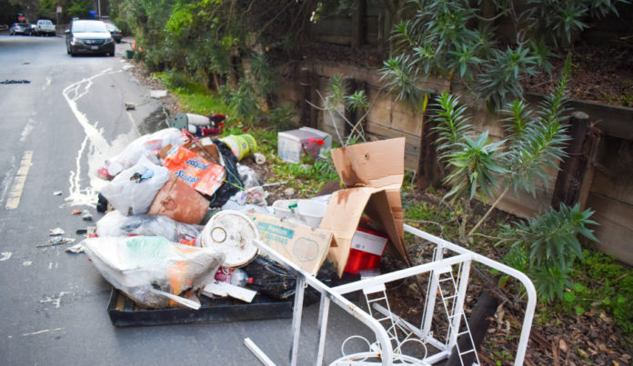 Last year, San Pablo's maintenance division set a new record by hauling about 640 tons of trash daily from city streets and rights of way.