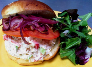 The Artisan Kitchen & Café sells out of this sandwich almost daily
