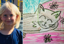 Local student's artwork featured in national children's magazine