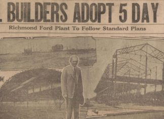 90 years ago: Richmond builders establish 5 day work week