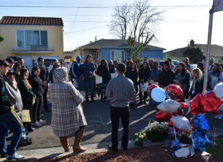 Richmond community gathers to mourn 4-year-old Heitor