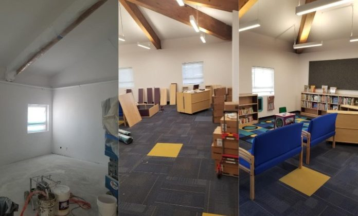North Richmond center will soon open early childhood reading room