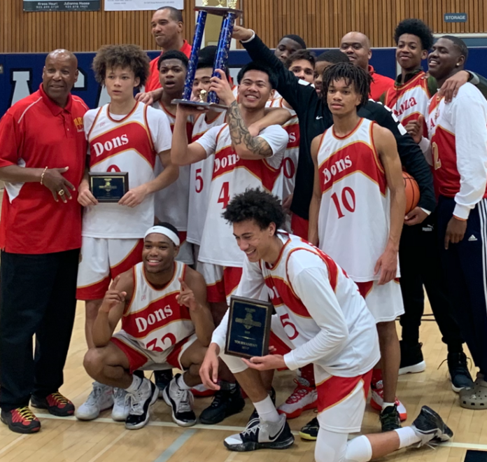 De Anza Dons capture first NCS basketball title in 31 years