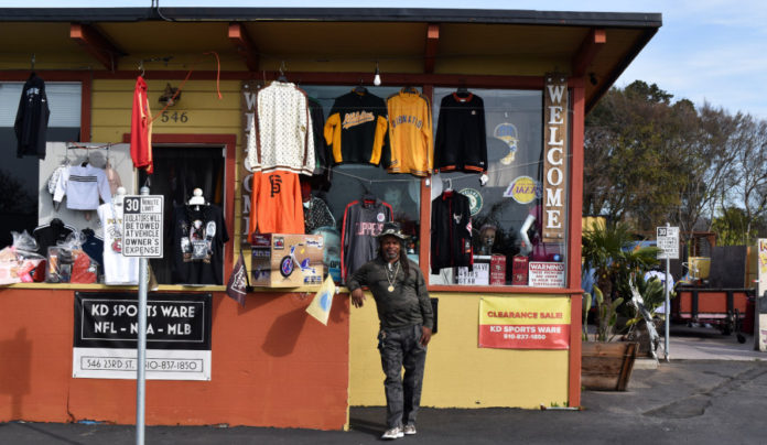 Richmond shop offers sports apparel and barbecue