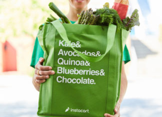 Instacart to hire 54,000 full-time shoppers in California