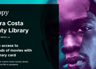 Contra Costa County Library offers members free access to movies and more