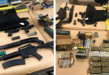Richmond traffic stop leads to seizure of guns, ammunition and body armor
