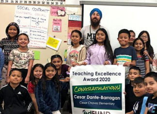 Four of WCCUSD's finest honored for teaching excellence