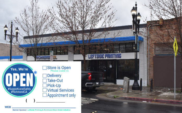Richmond printing biz donating 'Open for Business' banners to boost local economy