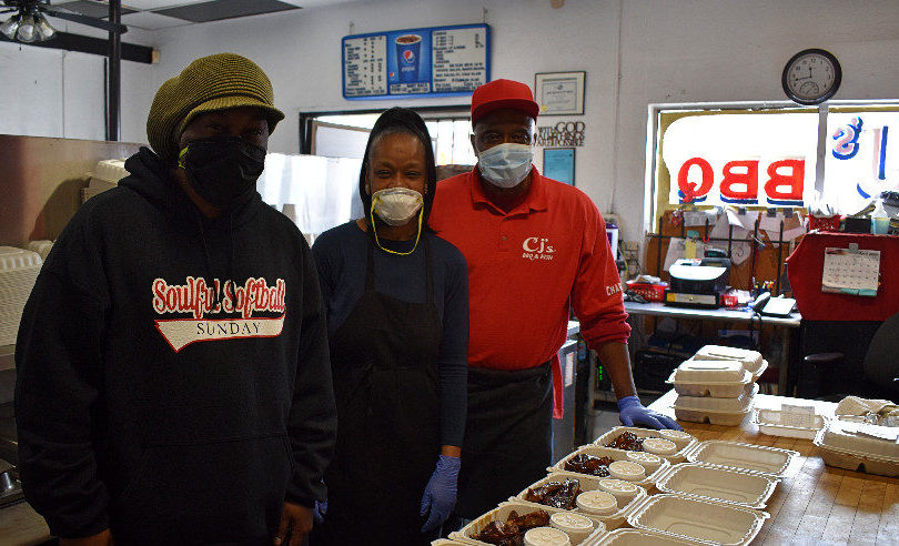 Kaiser Richmond workers treated to 125 meals from CJ's Barbecue