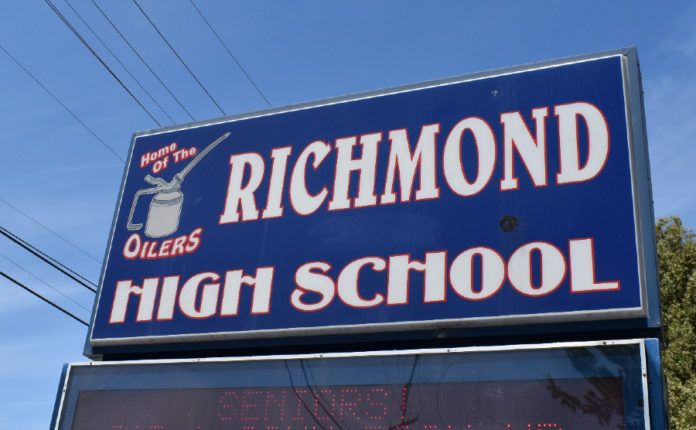 Richmond student journalists honored with countywide awards