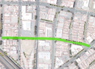 Richmond: Paving on Bissell Avenue from May 18-22