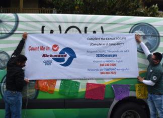 Census Caravan rolls through hard-to-count local neighborhoods