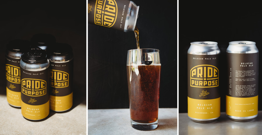 East Brother Beer Co. unveils newest brew: Pride & Purpose