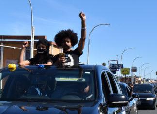 Hundreds of cars caravan across Richmond for racial justice