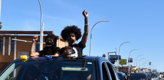 Hundreds of cars caravan across Richmond for racial justice