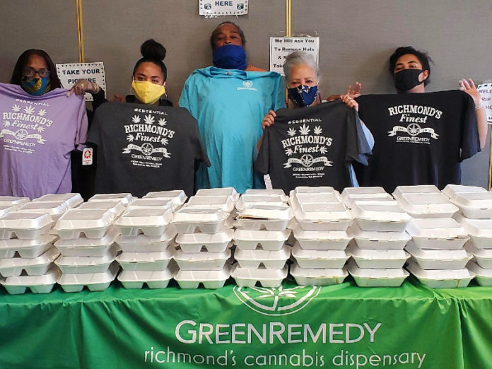 Green Remedy sponsors Father's Day event for homeless in Richmond