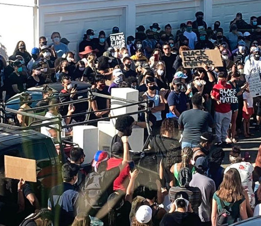 Peaceful protests across West County this week