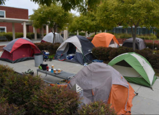 Protest occupation at Richmond Civic Center heads into third week