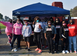 Soulful Softball Sunday annual backpack giveaway serves over 250 families