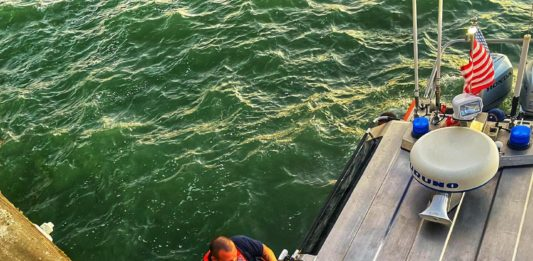 Several heroes involved in local capsized boat rescue
